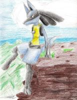 On the Edge - Lucario - CP by sewreel