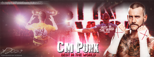 'CM Punk - Best In The World' FB Cover by YeshuDave029