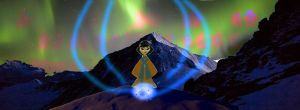 Northern Lights and Magic in the Mountains by timbox129