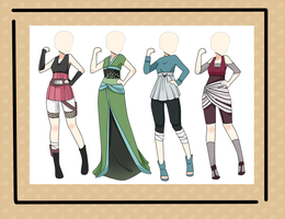 Adoptable outfit - MAKE AN OFFER - CLOSED by BianSher