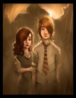 Ron + Hermione - H.P by Steve2032