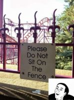 Please don't sit on the fence by cosenza987
