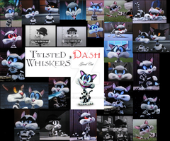 Twisted Whiskers Dash Collage by FairytalesArtist
