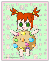 Candy in a Cookie Costume by candysores
