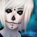 Shauny Sugar Skull - IMVY Re-Paint by ShikiCreations