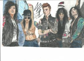 Black veil Brides Band Pic 10 in color updatet by xxdaswarwohlnix
