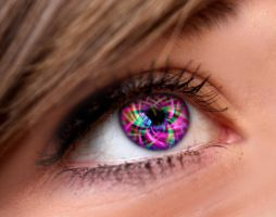 Spaced Out Eye by Joza1994