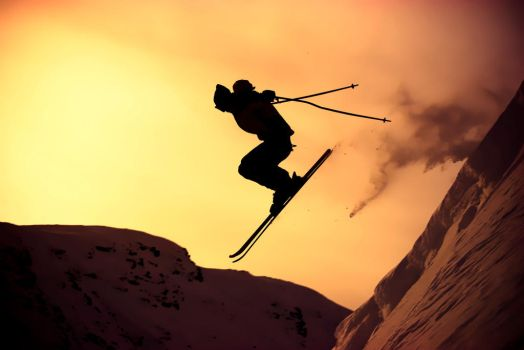 Ski or die by messo85