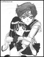 Haruka and Hotaru. without M? by avarill