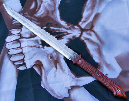 The Abaddon Sword by GageCustomKnives