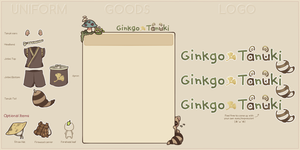 MAGE: Ginkgo Tanuki Resources by creamboys