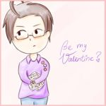 Be my Valentine? *APH-Austria* by MischievousRibbon