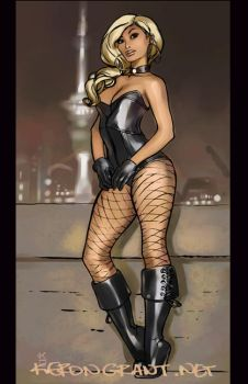 Black Canary by Kerong