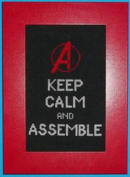Keep Calm... Cross Stitch by chujo-hime
