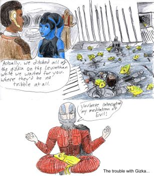 Gizka Are No Tribble At All by RogueDragon