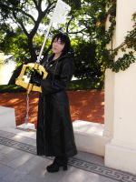 Xion Cosplay - My Keyblade is not a sham!!! by LiryoVioleta