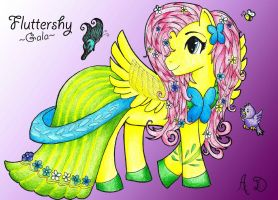 Fluttershy by AngieDraco