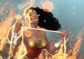 Wonder Woman by GiovaniKososki