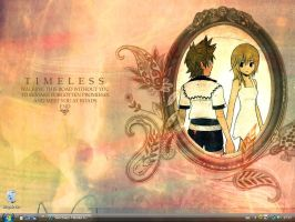 Roxas and Namine desktop by Sanctuary-Haruka