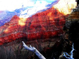 Red Grand Canyon by MissWhinnie
