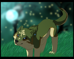 Wolf Link: Twilight Princess by DivineNymph