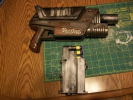 Rosy Rivet Gun Right by Frost-Claw-Studios