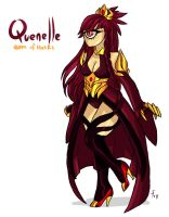 Quenelle outfit commission by Ask-Evin