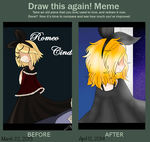 Draw it again - Romeo Cinderella by Angel-the-angel