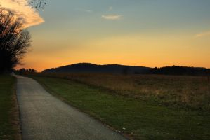 Valley Forge Walking Path HDR by froggynaan