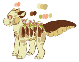 Garden Dragon Auction (Points and Paypal) by Crocodiie