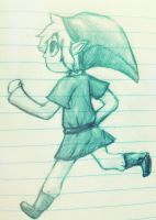 green boy in tights by Freckled-Kat