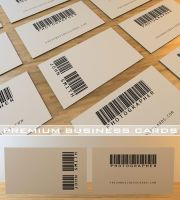 Barcode Business Card by Freshbusinesscards