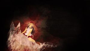 Princess Mononoke Wallpaper by kaki-tori