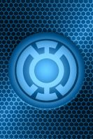 Blue Lantern Background by KalEl7