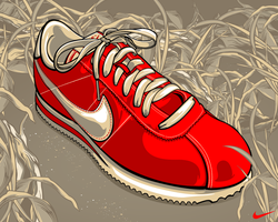 Nike Cortez by Aseo