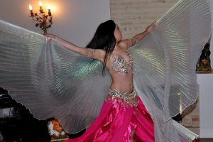 Wings Belly Dance 09 Stock by LoryenZeytin