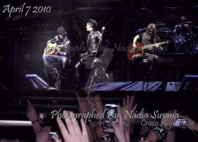 Tokio Hotel in Lisbon 7-4-2010 by CrazyNightmare