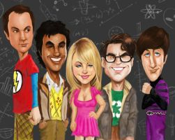 Big Bang Theory by rico3244
