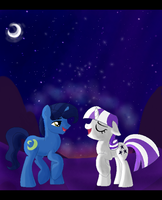Moonlight Love Song by SJArt117