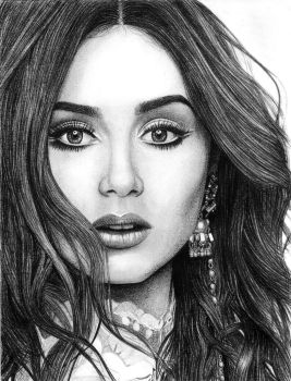Lily Collins 2 by SmoothCriminal73