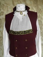 Steampunk jabot PCN5-1 by JanuaryGuest