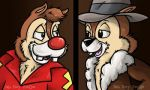 Chip and Dale by JellySoupStudios