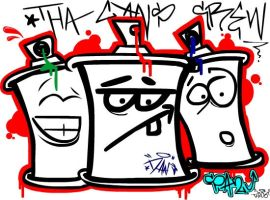 Tha cans crew by dNa-E