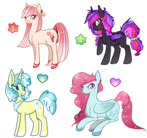 Pony Collab Auction : CLOSED by Laurel3aby