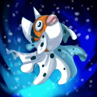 Pokemon Fanart-Dancing Monarch by Inkblot-Rabbit