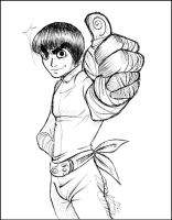 Rock Lee ++ for Ragweed by MoonNeko
