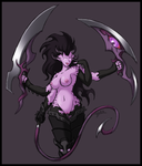 Whorespawn of Slaanesh by Blazbaros