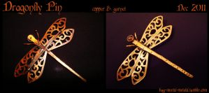Dragonfly Pin by bug-in-my-eye