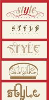 style logo by moslima