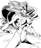 Scarlet Witch by KingVego